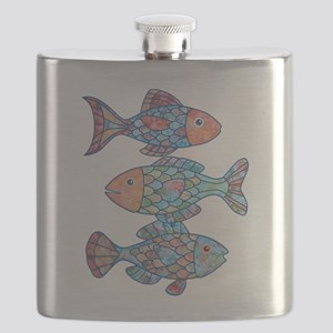 fishes 3 Flask