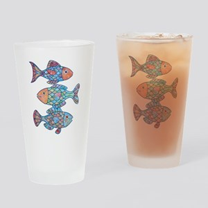 fishes 3 Drinking Glass