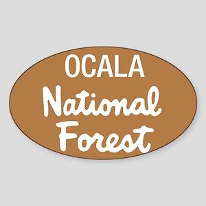 Ocala National Forest (Sign) Rectangle Sticker