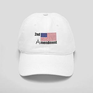 2nd Amendment AR Rifles A and Flag Baseball Cap