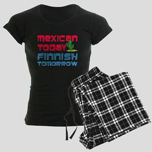 Mexican Today Finnish Tomorrow Pajamas