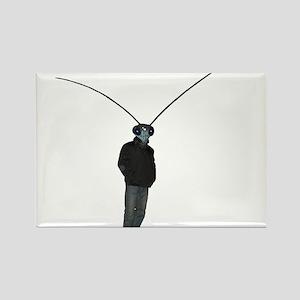 Mantis Man Rectangle Magnet