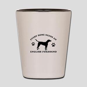 Every home needs an English Foxhound Shot Glass