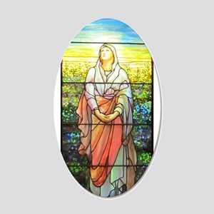 Mary, Tiffany Studios Window Wall Decal