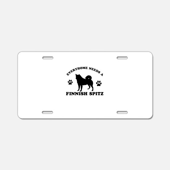 Every home needs a Finnish Spitz Aluminum License
