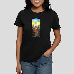 Mary, Tiffany Studios Window T-Shirt