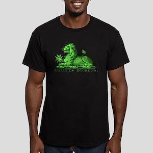 Dickens Men's Fitted T-Shirt (dark)