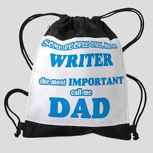 Some call me a Writer, the most imp Drawstring Bag
