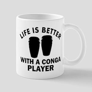 Conga Player designs Mug