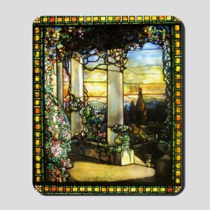 Greek Temple Garden Mousepad
