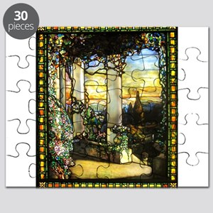 Greek Temple Garden Puzzle