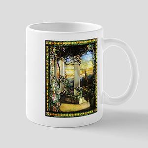 Greek Temple Garden Mug