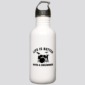 Drummer designs Stainless Water Bottle 1.0L