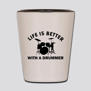 Drummer designs Shot Glass