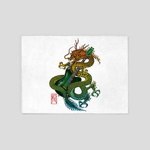 Dragon original 09 5'x7'Area Rug