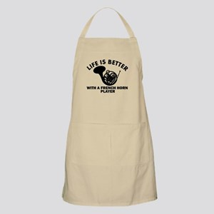 French Horn Player designs Apron