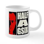 Half-A-Gsix Ceramic Mega Mug Mugs