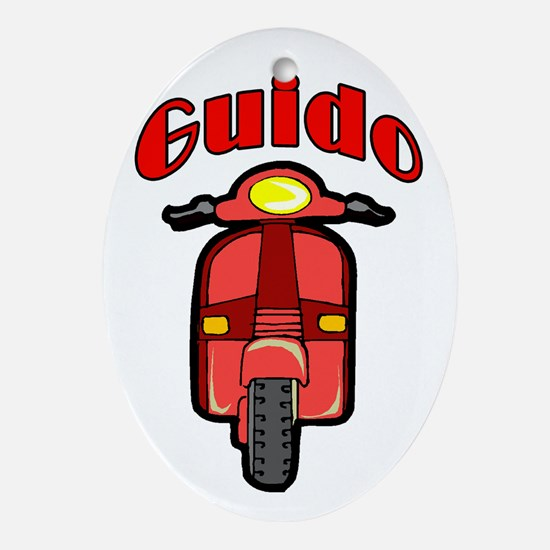 Guido Moto Oval Ornament