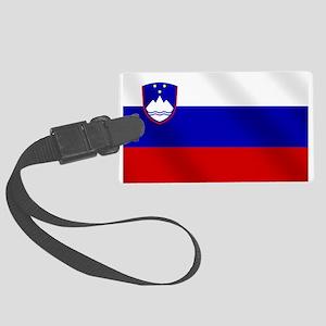 Flag of Slovenia Luggage Tag