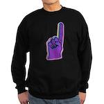 Foam Number One Finger Sweatshirt