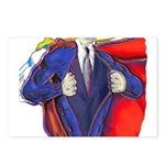 Super Man, Dad Postcards (Package of 8)