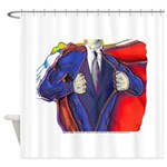 Super Man, Dad Shower Curtain