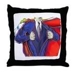 Super Man, Dad Throw Pillow