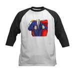 Super Man, Dad Baseball Jersey