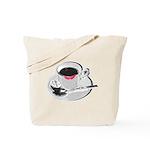 Coffee Lipstick Tote Bag