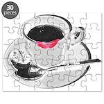 Coffee Lipstick Puzzle