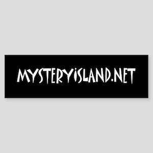 Mystery Island Bumper Sticker
