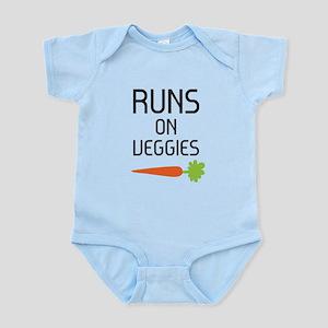 Runs on Veggies Body Suit