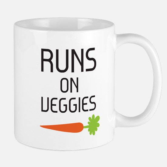 Runs on Veggies Mug