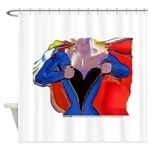 Super Woman, Mom Shower Curtain