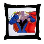 Super Woman, Mom Throw Pillow