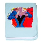 Super Woman, Mom baby blanket