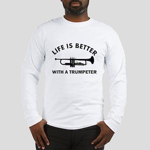 Trumpeter designs Long Sleeve T-Shirt