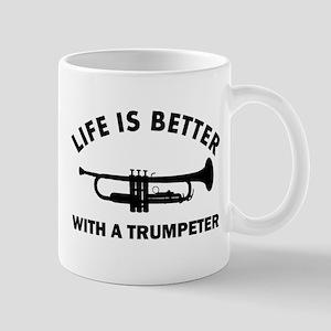 Trumpeter designs Mug