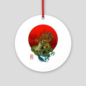 Dragon original sun 1 Ornament (Round)