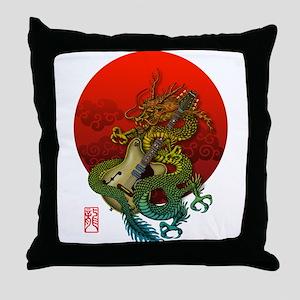 Dragon original sun 1 Throw Pillow