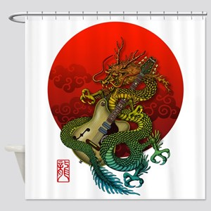 Dragon original sun 1 Shower Curtain