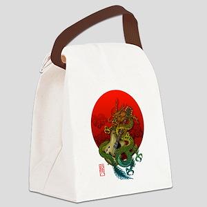 Dragon original sun 1 Canvas Lunch Bag