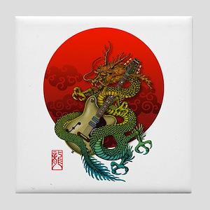 Dragon original sun 1 Tile Coaster