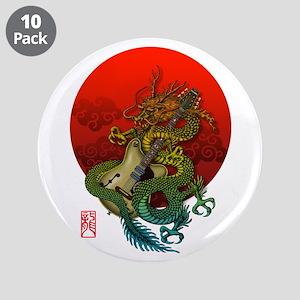 "Dragon original sun 1 3.5"" Button (10 pack)"