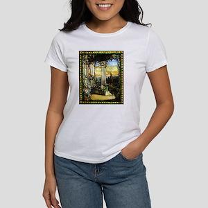 Greek Temple Garden T-Shirt