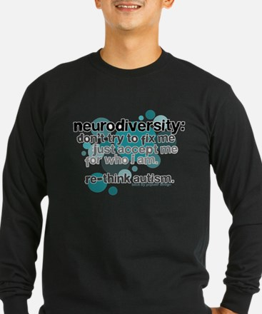 Neurodiversity Long Sleeve T-Shirt