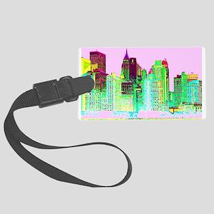 NEW YORK CITY Large Luggage Tag