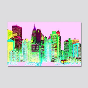 NEW YORK CITY 20x12 Wall Decal
