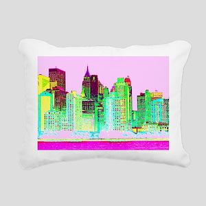NEW YORK CITY Rectangular Canvas Pillow
