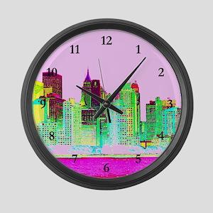 NEW YORK CITY Large Wall Clock